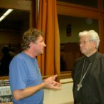 P. Xavier de Zutter et Mgr Ghirard, évêque de Rodez