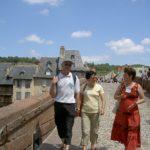 sur le pont vieux d'Espalion