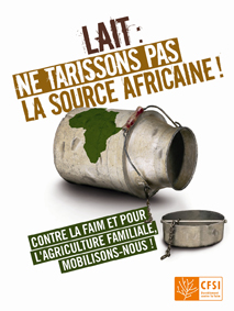 « Lait : ne tarissons pas la source africaine ! »