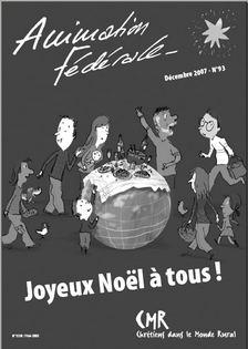 Animation Fédérale n°93 – Décembre 2007