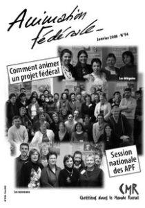 Animation Fédérale n°94 – Janvier 2008