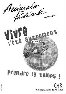 Animation Fédérale n°98 – juin 2008