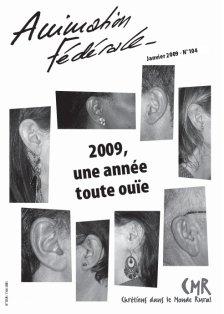 Animation Fédérale n°104 – Janvier 2009