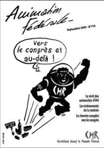 Animation Fédérale n°110 – Septembre 2009