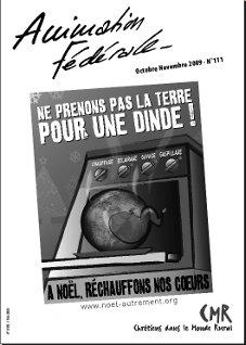 Animation Fédérale n°111 – Novembre 2009