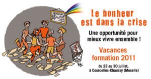 Vacances formation 2011