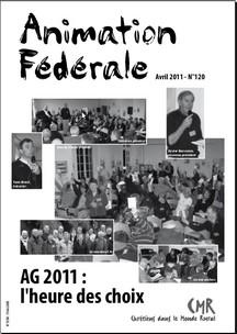Animation Fédérale n°120 – avril 2011