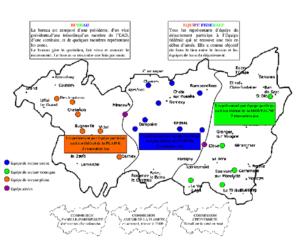 Les équipes du département des Vosges