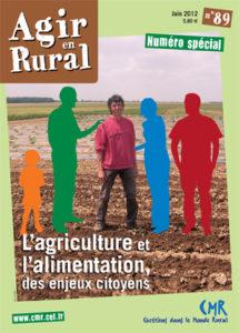N°89 L'agriculture et l'alimentation, des enjeux citoyens