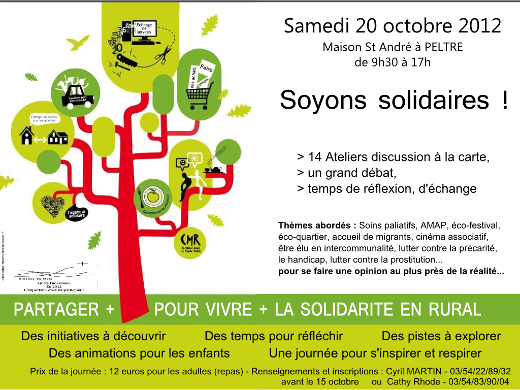 Soyons solidaires !