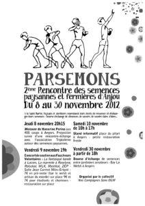 2e rencontre des semences paysannes et fermières d'Anjou