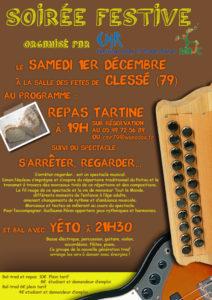 Soirée festive CMR-MRJC dans les Deux-Sèvres