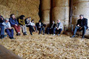 Un après-midi de rencontre avec l'archevêque au GAEC la Tartaille