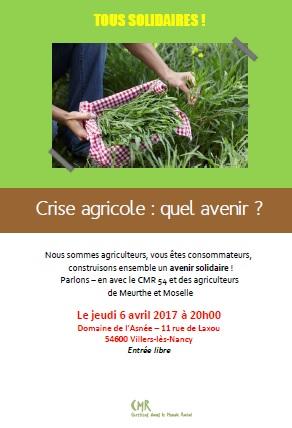 Crise agricole : quel avenir ?