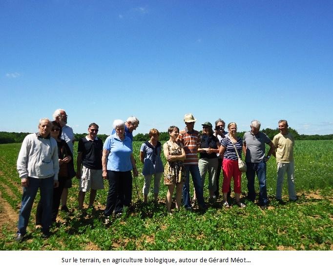 Une rencontre avec des agriculteurs en mouvement