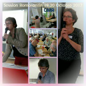 Retour sur la Session Régionale CMR Région Centre Val de Loire  19 et 20 Octobre