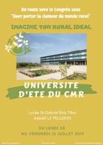 Université d'été du CMR