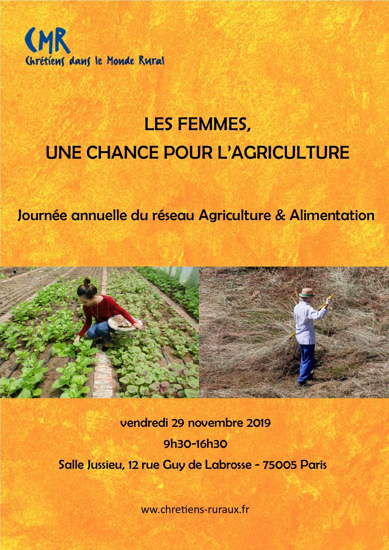 Les femmes, une chance pour l'agriculture