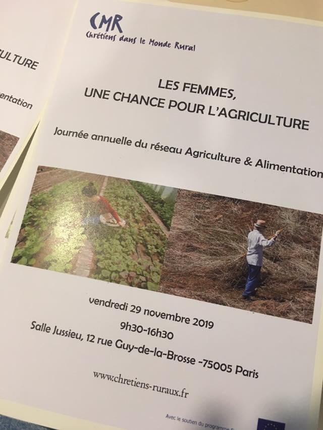 Les femmes une chance pour l'agriculture