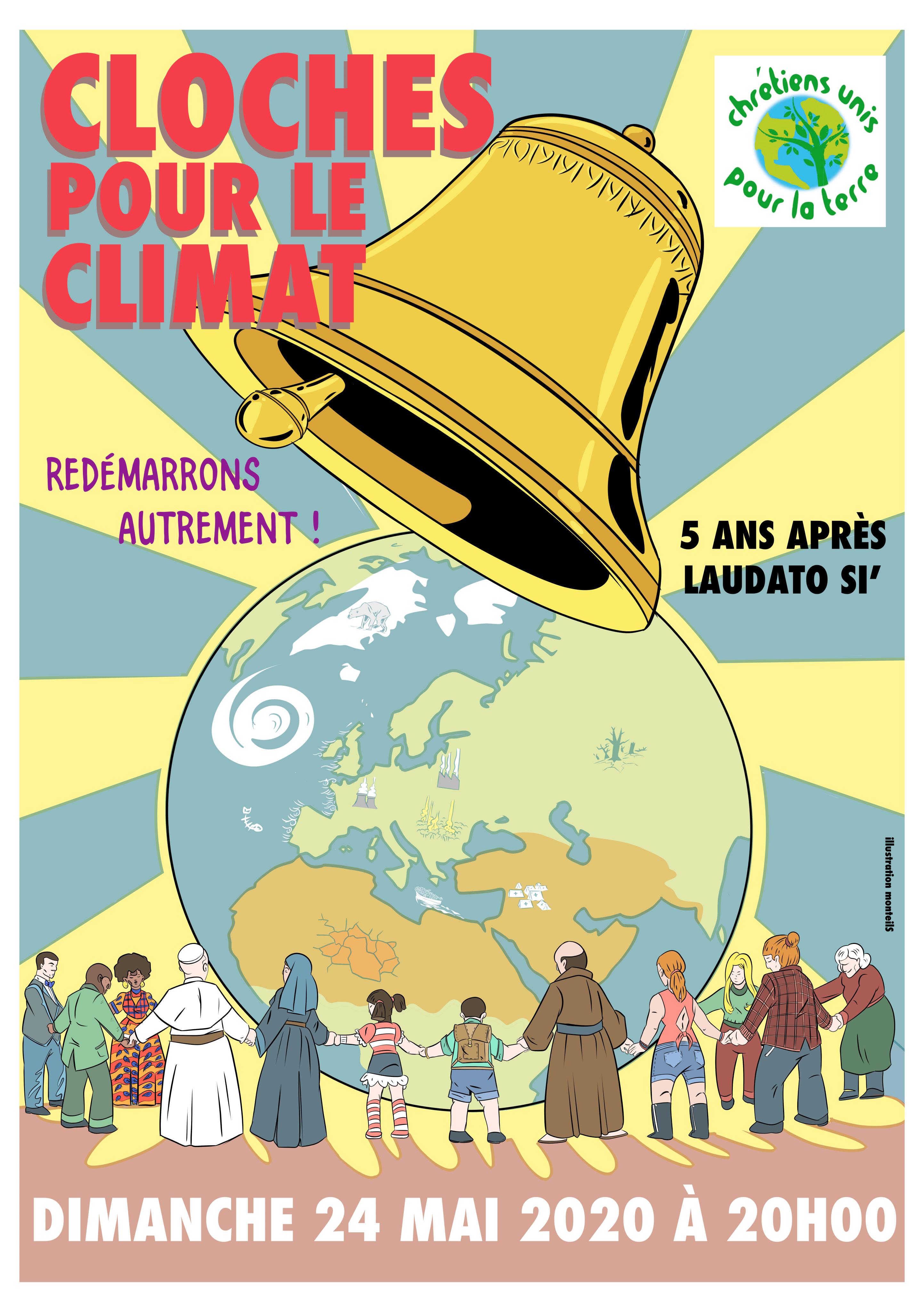 Les cloches sonnent pour le climat : re-démarrons autrement!