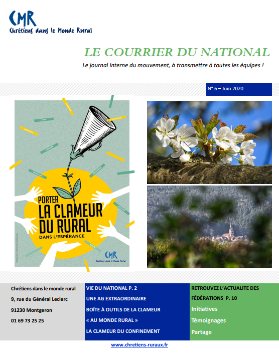 Publication du Courrier du national n°6